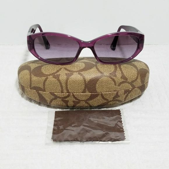 977ca05f5a Coach Accessories - Coach Hope Violet Gradient Lens HC 8012 Sunglasses